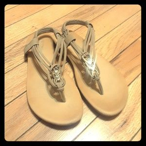 Other - Girls Sz 1 sandals Slip ons Tan